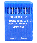 70/10 SHARP x100 SCHMETZ NEEDLES